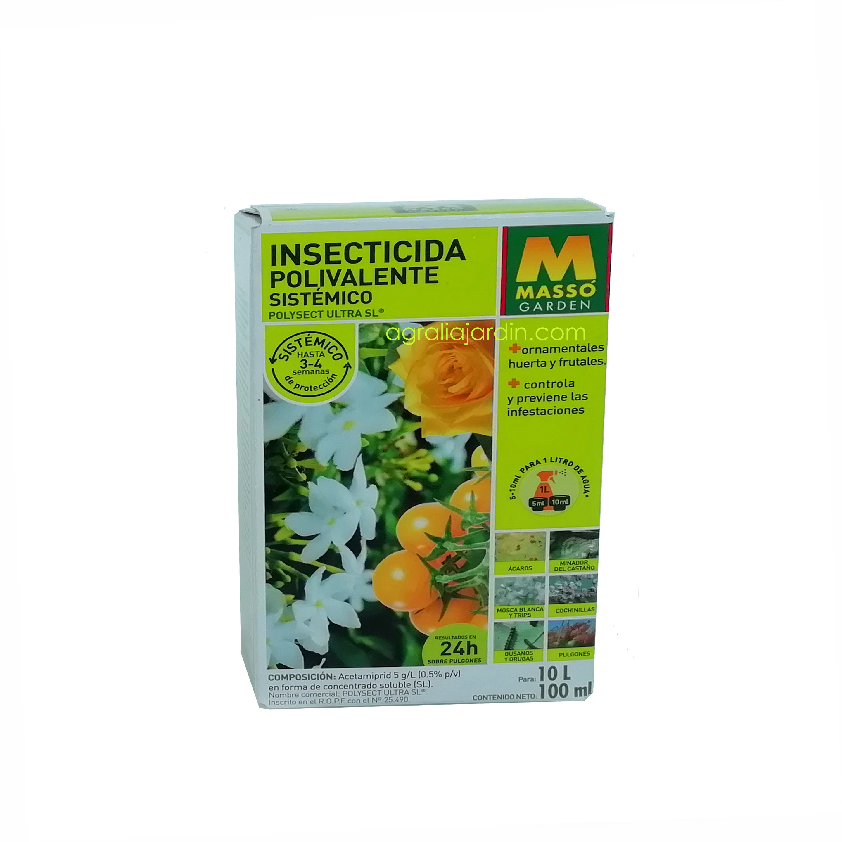 insecticida polivalente sistemico masso garden agraliajardin.com