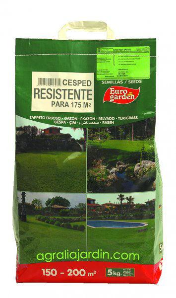 Cesped Resistente 5 Kg eurogarden agraliajardin