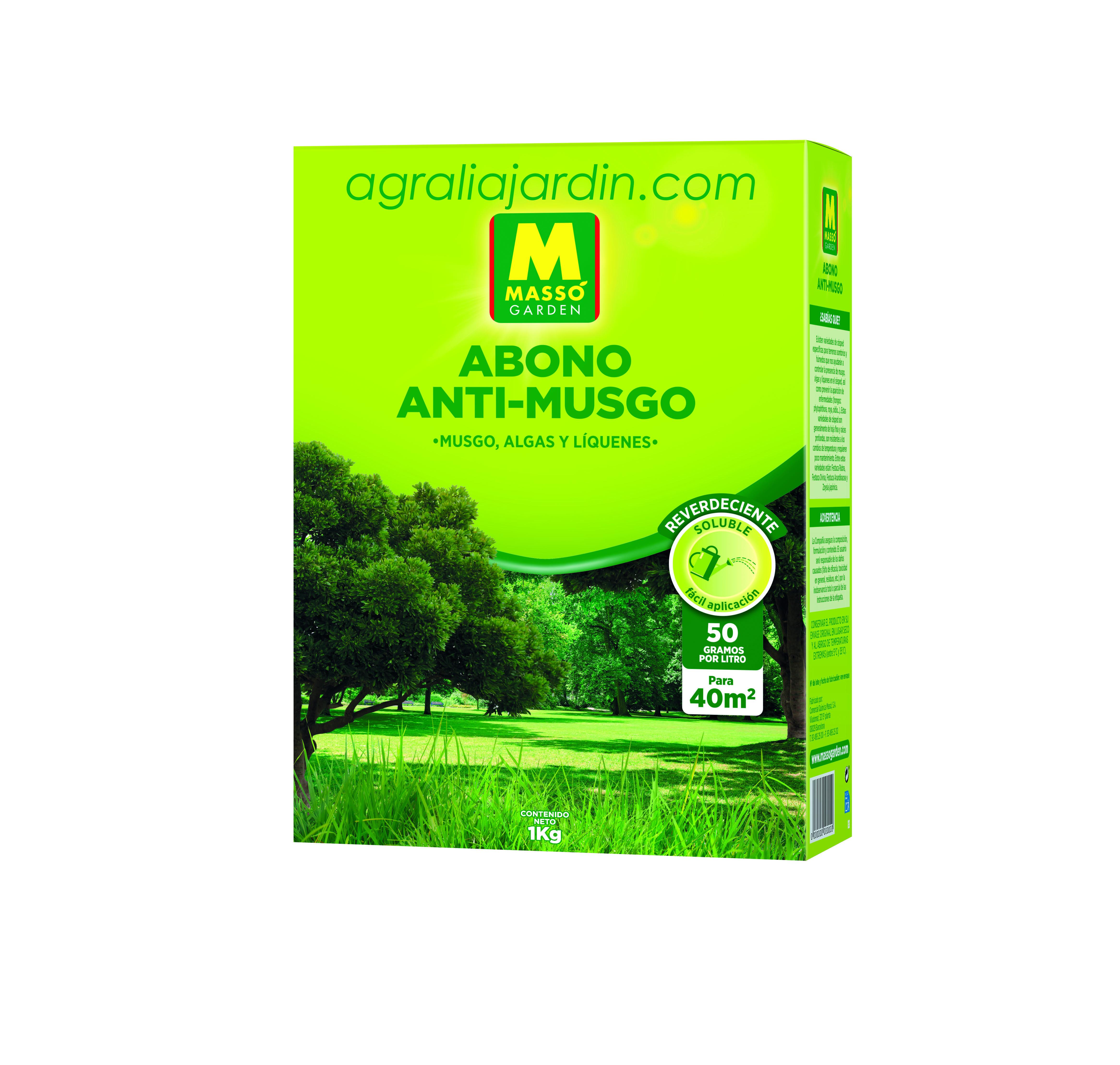 Massó Garden Abono Anti-Musgo 1 kg_agralia online