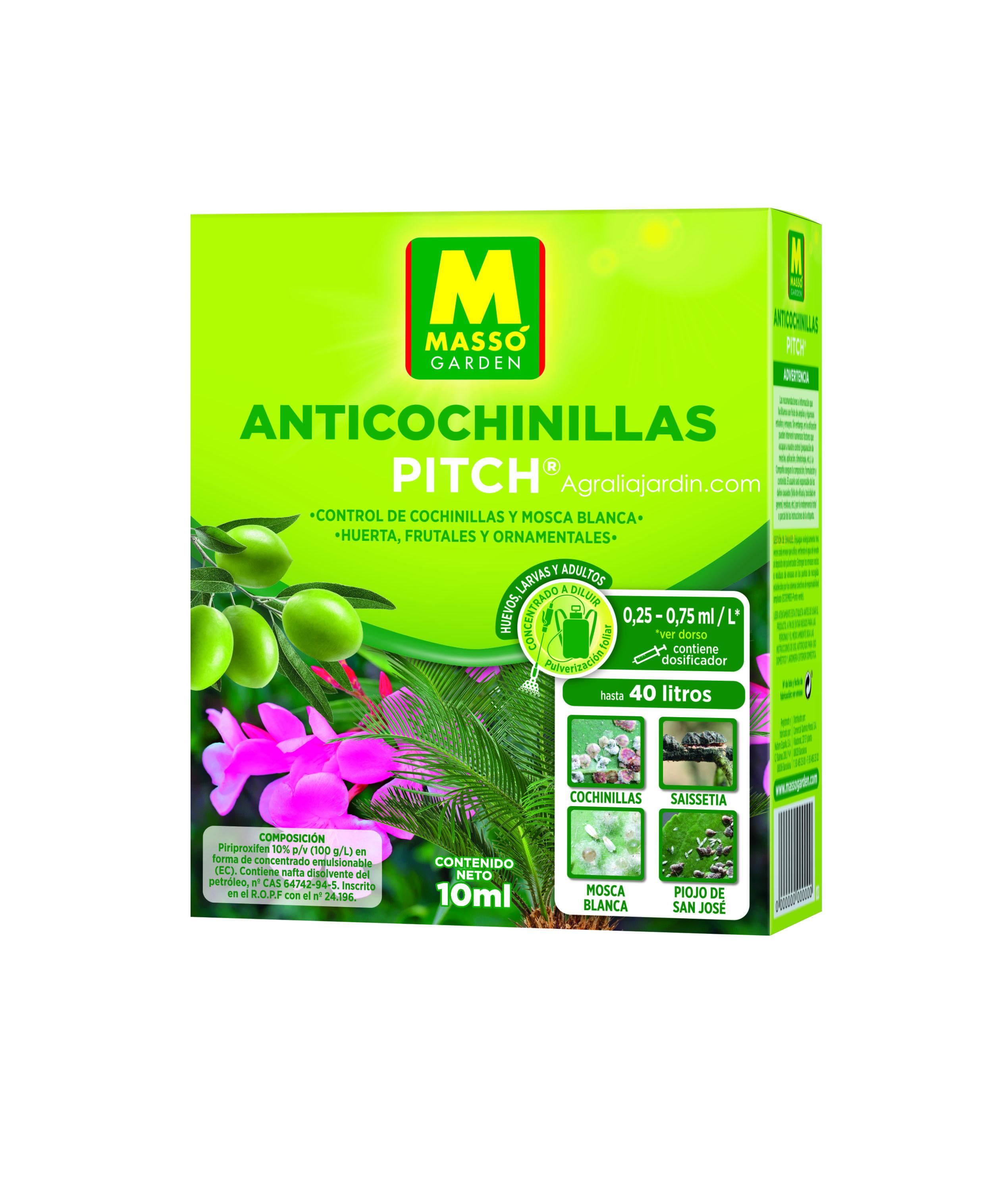 Massó Garden Insecticida Anticochinillas 10 ml agralia